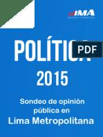 Sondeo de Opinión - Política