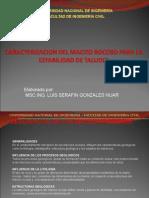 Caracterizacion Del Macizo Rocoso