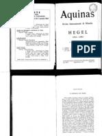AaVv - Hegel - Numero Di Aquinas - 1981