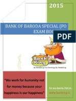 Bank of Baroda Special Banking King Part 001