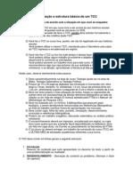 VCD-Estrutura Básica de Um TCC
