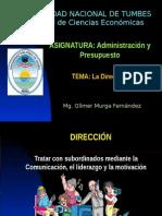 13 La Dirección - 2014-I