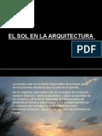 El Sol en La Arquitectura Básico