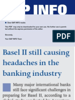 Basel II Causing Headache to Banks2006