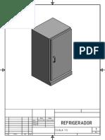 refrigerador en 3d