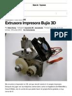 extrusor 3D