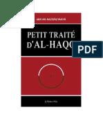 Petit Traite Dal-Haqq
