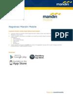 Registrasi Mandiri Mobile