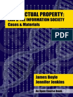 IP Law and the Internet Society Casebook - James Boyle y Jennifer Jenkins 2014