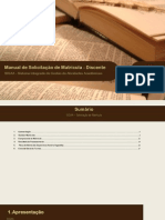 Manual de Solicitação de Matrícula - Discente