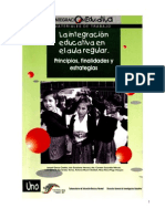 Integracion Educativa en El Aula Regular Libro Verde
