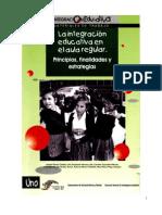 Integracion Educativa en El Aula Regular Libro Verde