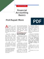 Financial Accounting 01 Basics