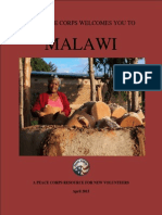 PEACE CORPS | MALAWI WELCOME BOOK | APRIL 2015