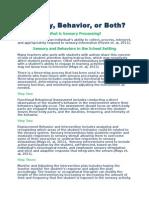 abbey-sensory or behavior handout