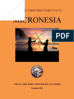 THE PEACE CORPS | MICRONESIA WELCOME BOOK | JANUARY 2015