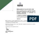 Res. n 79-25-11-13 - Calendario Bacharelado 2014(1)