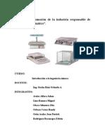 Informe de química inorganica