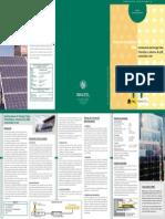 Prod 10 Instalaciones Fotovoltaica Menores 5kW Conectadas a Red