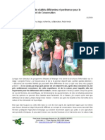 Conjunction of Different Realities and Relevance to the Conservation Movement (French)