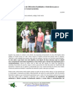 Conjunction of Different Realities and Relevance to the Conservation Movement (Portuguese)