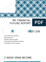 my financial future report be