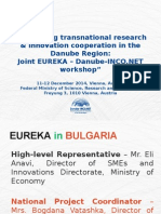 EUREKA in Bulgaria