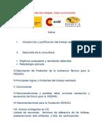Informe FEDOMU noviembre