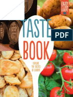 Taste Book. Explore the Tastes of Europe