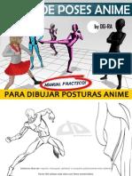 Aprende Poses Anime