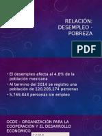Pobreza-Desempleo Relacion