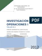107165270 Problemas de Investigacion de Operaciones