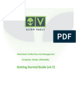 AlienVault Getting Started Guide v47