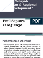 Seminar Perencanaan Urban Development