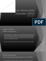 student example  borderline personality disorder