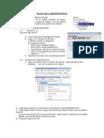 Guía de Laboratorio Diseño de Bd con sql