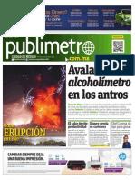 Diario Publimetro 24 Abril 2015