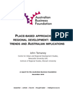 Place Based Competitiveness Australia NO