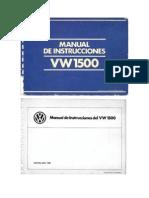 Manual de Vw 1500