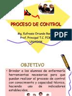 Proceso de Control Clase 2011-i