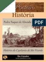 Historia Da Capitania de Sao Vicente