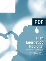 Plan Energetico Nacional 2007