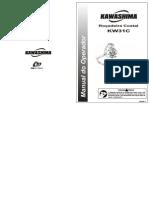 Manual Rocadeira KW 31-C Kawashima