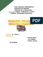 Trabajo de Tecnología Educativa.
