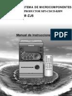 Manual Manual Samsung MM-ZJj6