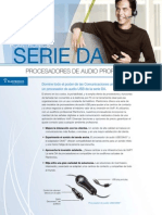 DA Series Familysheet - Folleto (Spanish LA)
