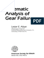 Alban, Systematic Analysis of Gear Failures