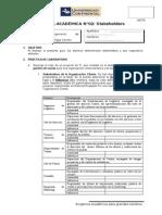 Tarea Académica N°02 - Stakeholders y Usuarios AVANCE