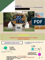 Primera Ley de La Termodinamica- Fundamentos