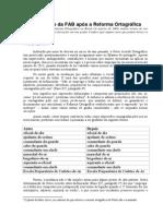 Vocabulario FAB Pos-ReformaOrtografica